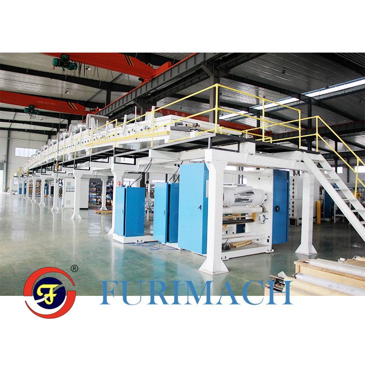 FRTB High Precision Protection Tape Coating Machine (Surface Protection Film Coa